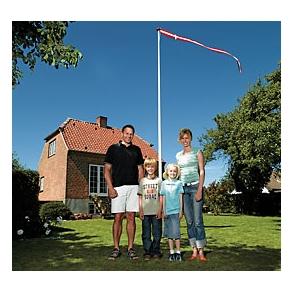 Flagstang Pakkeløsning - TILBUD (kun Sjælland)